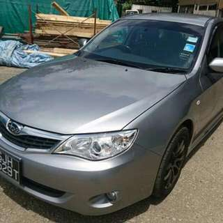 Subaru Impreza Version10 1.5L 5-Speed Manual      -(SG)-  Year 2008