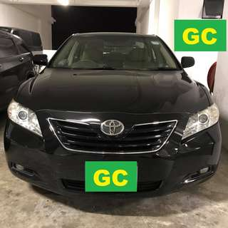 Toyota Camry THE CHEAPEST RENT AVAILABLE FOR Grab/Uber