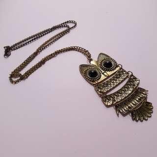 OWL Necklace (Kalung)