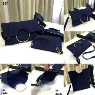 F*SH**N  Hand Bag 551 2in1  (11)*