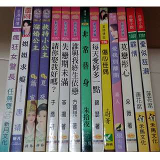 Preloved Chinese Romance Novel 二手言情小说