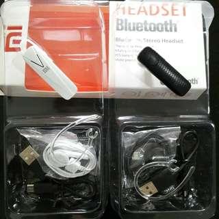 XIAOMI Headset Bluetooth BT Stereo Audio Handsfree 4in1 Ear