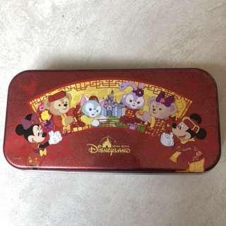 Disney 新年款多用途鐵筆盒