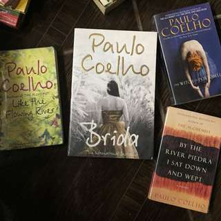 (Free shipping) Take All Paulo Coelho 4 Book Collection
