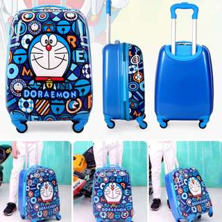 (DORAEMON) FREE DELIVERY  KIDS LUGGAGE