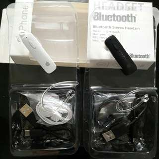 IPHONE APPLE Headset Bluetooth BT Handsfree Stereo Audio4in1