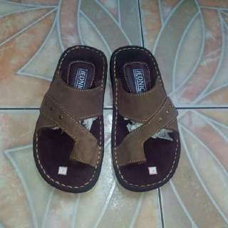 slippers leather for men