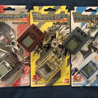 20th Anniversary Limited Edition Digimon