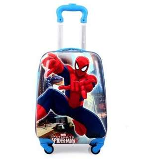 (spider-man) free delivery kids luggage bag