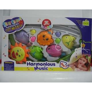 Baby Toys Musical Mobile / Mainan Bayi Putar Gantung Bunyi
