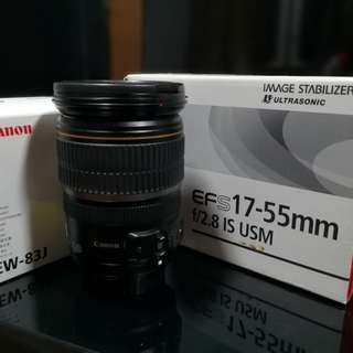 Lens Canon 17-55mm f2.8
