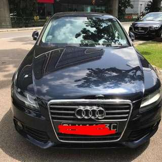 Audi A4 B8 1.8L TFSi 6-Speed Tiptronic Automatic     -(SG)-  Year 2010
