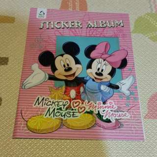 Sticker Book - Mickey & Minni Mouse
