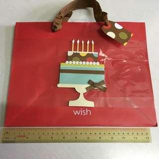 生日快樂紙袋