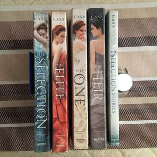 The Selection Series by Kierra Cass