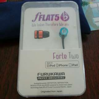 fLAT5 Forte Two Headphone(Furukawa)