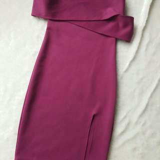 Pink body cone dress