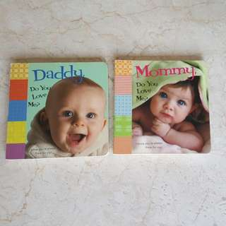 Books Bundle Of 2 - Daddy, Do You Love Me? & Mommy, Do You Love Me?