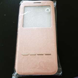 Samsung S8 rose gold pink flip case with ring stand my melody
