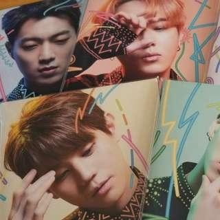 (現Highlight) Beast 日雙單曲Day版 (整套-共6隻+poster:HKD300)