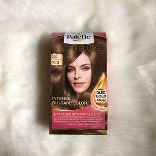 Palette hair dye