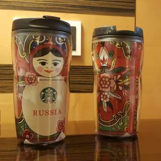 Starbucks Tumbler Rusia 12oz/355ml