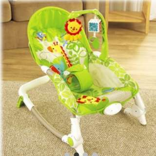 Fisher Price Baby Rocker & Hanging Toys & Vibration