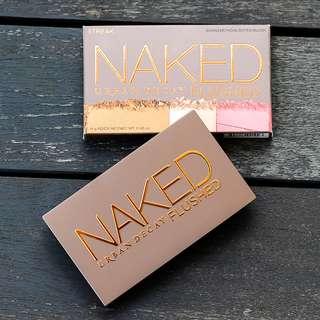 Urban Decay Naked Flushed - Streak Flushed/ Bronzer/Highlighter/Blush