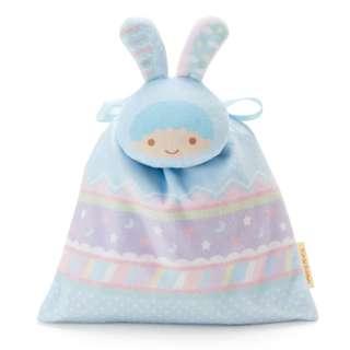 日本代購 sanrio 專門店 2018年 2月little twin stars 耳朵吉祥抽繩糖果袋套裝