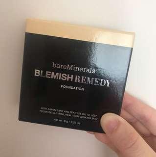 bareminerals 礦物抗炎零毛孔粉底 blemish remedy