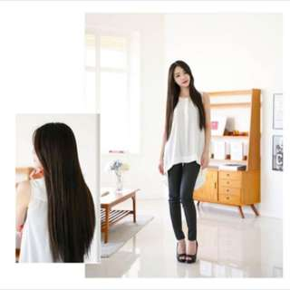 Straight Silky Hair Brown Wig ( PO ENDED )