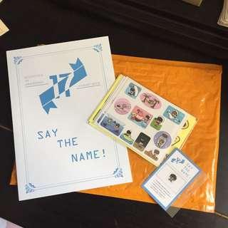 Seventeen 飯製Fanart Book(S.coups)