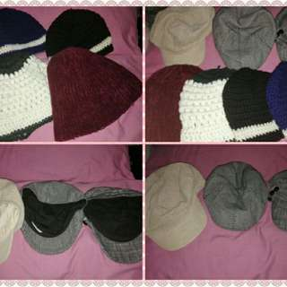 Assorted Hats and Caps