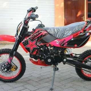 Motor mini trail 100cc