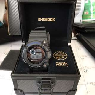 Casio Frogman Gw-225c Master Blue G-shock 25th Anniversary Ltd Edition MINT