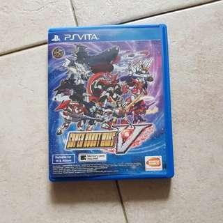 Super Robot Wars V - Ps Vita. (Eng)