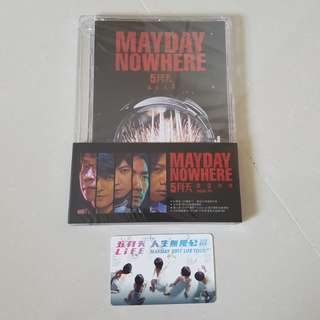 Mayday Nowhere DVD & Ez Link Card