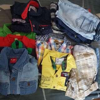 Boys clothing 18mths to 3 yeras old