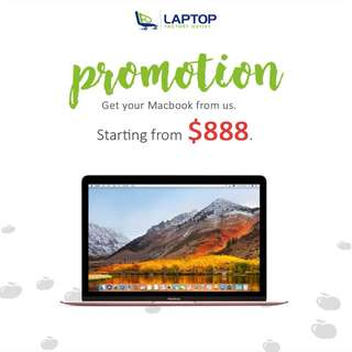 MacBook Promotions! [Preowned]