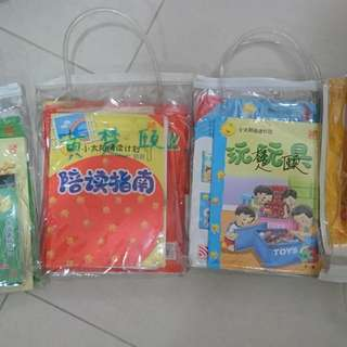 Kids learn-to-read Chinese reading book with CD, 4 sets