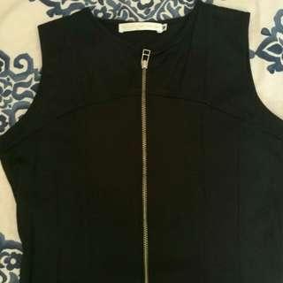 Cole Vintage zipper shift dress