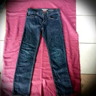 Levis girls skinny jeans