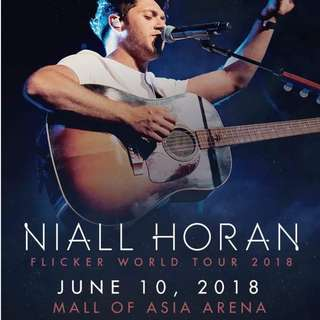 Niall Horan Lowerbox Ticket Manila