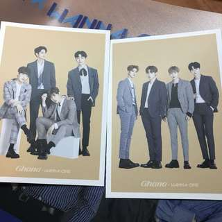 Wanna One Ghana明信片