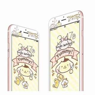 iPhone 8布甸狗mon貼螢幕保護貼