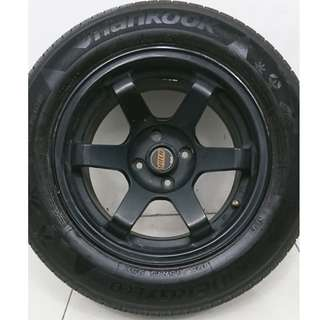 15 '' Sport Rim With Tyre 4x100 (SR916)