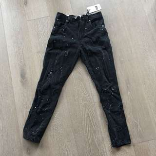 Ziggy Black Denim Jeans