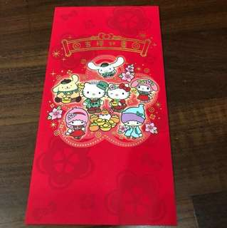 Unique Changi Airport 2018 Sanrio X Red Packets (Limited Edition). Complete Set
