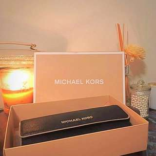 Michael Kors Black Travel Wallet