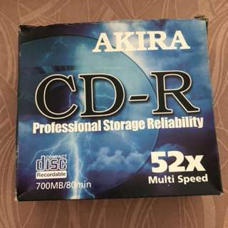 CD-R 700MB/80mins( 8pcs)